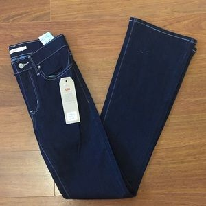 Levi's-Slimming Bootcut Jeans